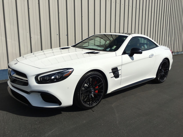 New 2017 Mercedes Benz Sl Amg 174 Sl 63 Roadster Roadster In Bakersfield 27403 Mercedes Benz Of