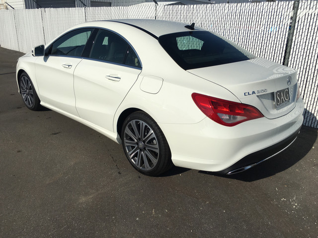New 2017 MercedesBenz CLA CLA 250 Coupe in Bakersfield 27556